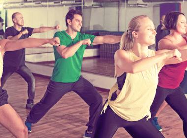 Zumba energinen tanssitreeni