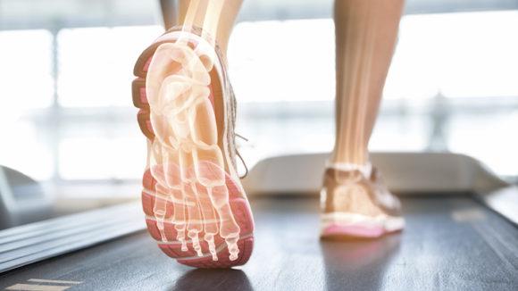 Fysioterapiassa jalat terveiksi