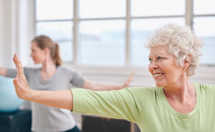 Senioriliikunta - voimaa ja kehonhallintaa