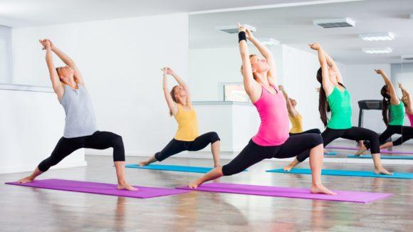 Jooga virkistää kehoa ja mieltä.