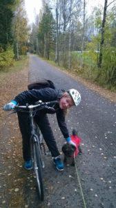 Hyötyliikuntaa työmatkapyöräilemällä