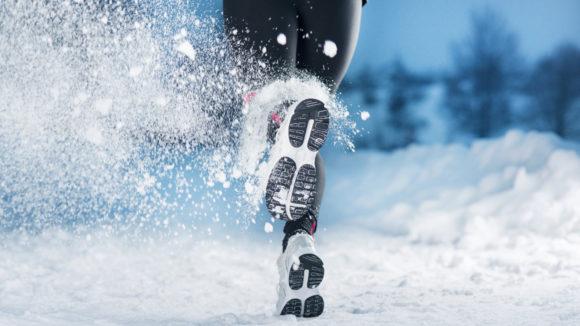Juoksija talvella