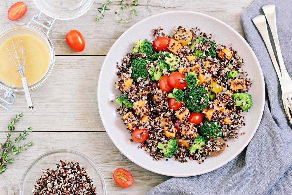 Proteiinipitoisella salaatilla saat tarvittavat ravinteet lihasten kasvuun