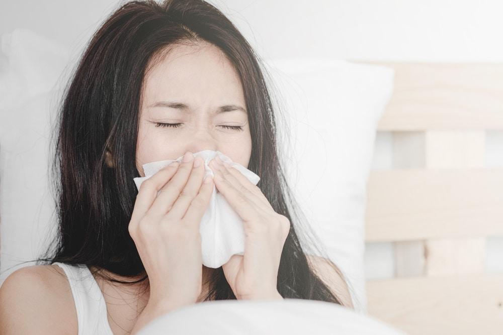 flunssassa treenaaminen