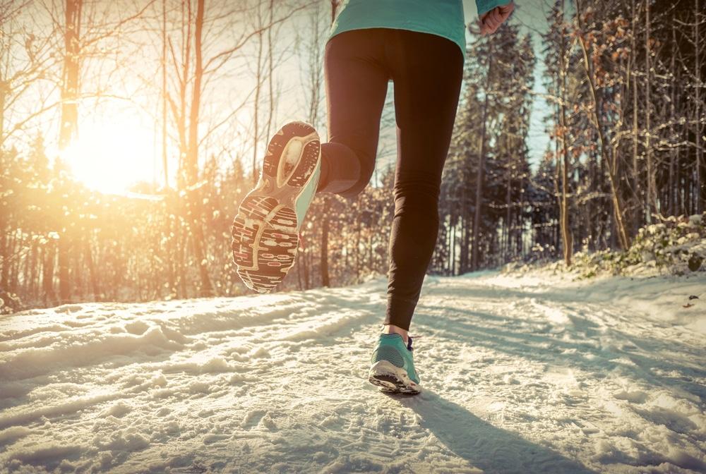 juosta talvella
