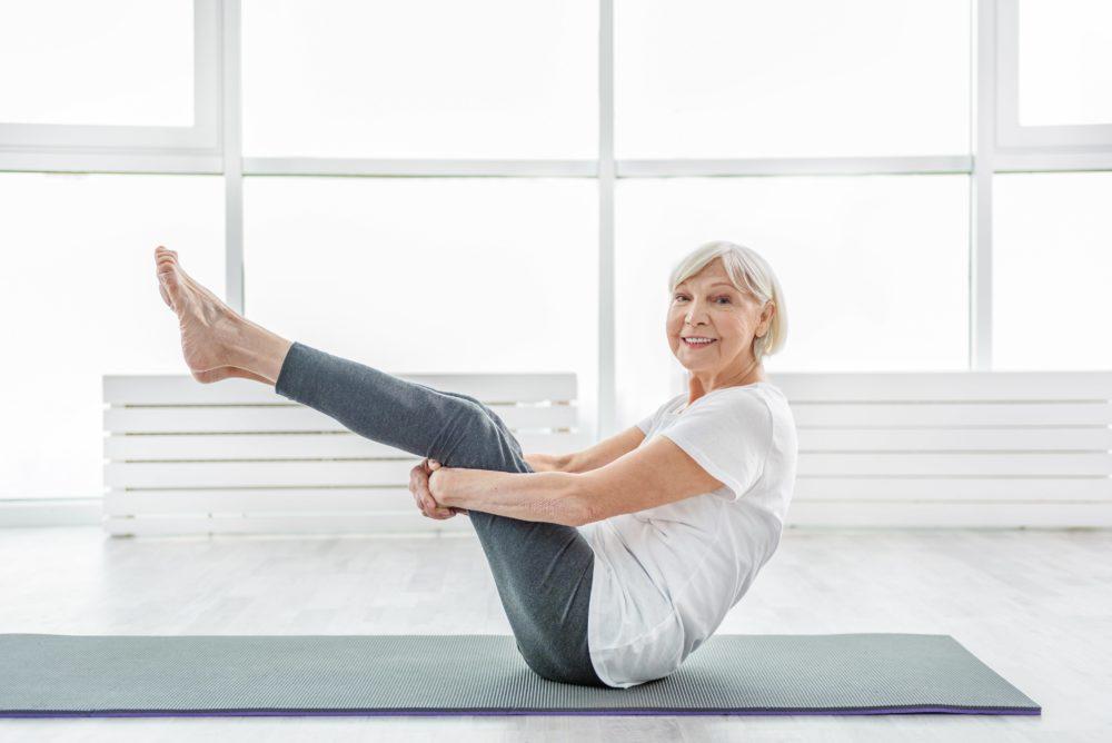 ikäihmisen liikuntasuositus - seniori jumppaa